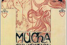 Affiche Art Nouveau Kyara