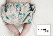 Vintage fabric baby bloomers