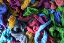 fabulous felt / Wet felting with British wool: what could be more magical, eco friendly, creative and fun?