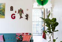 At Home with Pop & Scott / Past & Present homes of Design duo Pop & Scott
