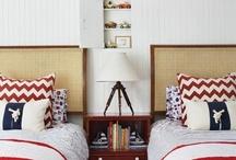 Boys bedrooms / by Ashley Jordan