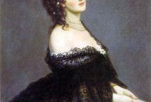 "Virginia Oldoini, Countess of Castiglione / ""Virginia Oldoini, Countess of Castiglione (22 March 1837 – 28 November 1899), better known as La Castiglione, was born to an aristocratic family from La Spezia. She was a 19th-century Italian aristocrat who achieved notoriety as a mistress of Emperor Napoleon III of France. She was also a significant figure in the early history of photography."" - Wikipedia"