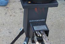 Rocket mass stove