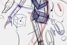 Sketchy anatomy & hampton