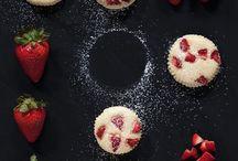 Rezepte mit Erdbeeren/Rhabarber / Lasst uns den Sommer mit leckeren Erdbeer oder Rhabarber Rezepte feiern.