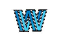 V - v og W - w / Billeder af bogstaverne 'V' og 'W'
