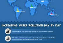 Infographics / Everything and anything related to water, all in visual style.