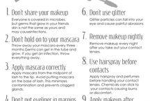 Patient information: Eye makeup