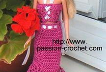 habit poupée barbie