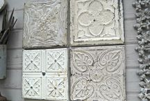 Tin ceiling tile ideas