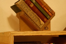 Bookends / DIY ideas for bookends