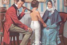Histoire de la santé / Ouvrages sur l'histoire des maladies, des médecins, la médecine.