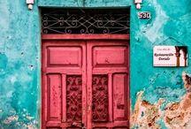 Puertas / México para cuadros