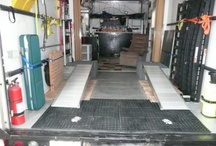 Organizing the Trailer / Tips for keeping your trailer clean and organized!