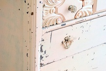 Vintage & Shabby chick furniture /  painted furniture pieces