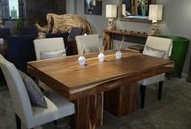 Table bois brute ou Exotique