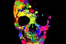 Skull and art