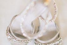 Wedding shoes and klimbim