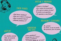 Espanol: hacer planes