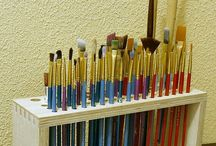 Craft room organize