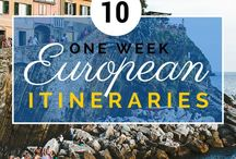 European Travel / Let's travel to Europe!  Europe has so many fun and exciting destinations!  Pack your suitcases and check some destinations below. / by DWB Vacations LLC