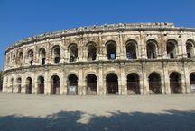 Anfiteatro romano de Nimes. 26 ac. Nimes. Francia.