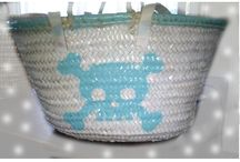 My wicker baskets / My own designs, ready to shine.