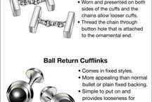 Golden Inspiration Cufflinks