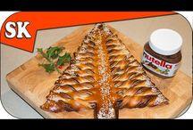 Nutella Christmas Tree