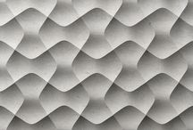 _ . . Textures, Finishes, Screens and Walls