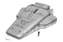 Concept Art de El juego de Ender / El ilustrador y diseñador conceptual Robert Simons ha compartido con la web conceptartworld.com parte de los concept art y animatics que creó para 'El juego de Ender'.