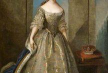 18th century court dresses