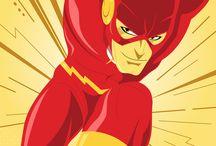 Flash, Shining Knight and Vigilante