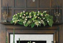 Holiday mantels & displays