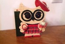 Fancy Owl / Owl creations