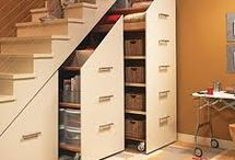 Stair Storage / by Jessica Guenther
