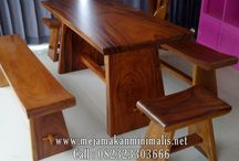 Set Kursi Makan Solid ( Solid DIning Room )