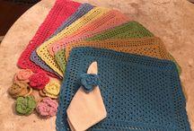Souplast retangular de crochet