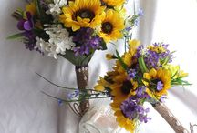 wedding yellow and purple