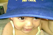 DiscoBurner / Ella with cap of most famous disco in Pattaya.