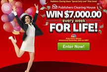 PCH Publishers Clearing House / Search and win / by Linda Mayer