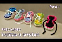 Ganchillo-Zapatillas Adidas