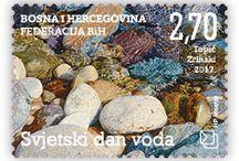 Poštanske marke HP Mostar 2017. godine / Croatian Post Mostar's postage stamps in 2017