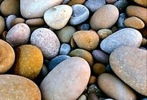 Rocks stones and pebbles