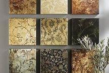 Wandbilder aus Tapeten