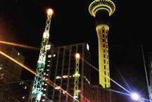 New Zealand / Sky Tower, Auckland
