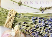 Lavender in Food - Ideas / Lavender is edible and like other herbs can be used in cooking and making teas. It really enhances the flavor and appearance of foods.
