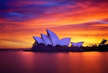 Australia & New Zealand / by Slevey