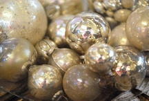 Christmas Ornaments / Vintage and Antique