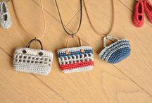 刺繍糸編物